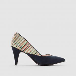 Туфли разноцветные MADEMOISELLE R. Цвет: синий