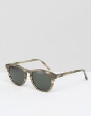 Han Kjobenhavn Солнцезащитные очки Timeless. Цвет: коричневый