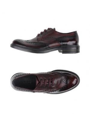 Обувь на шнурках WEXFORD. Цвет: баклажанный