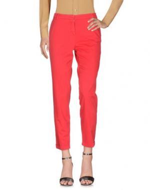 Повседневные брюки HEAVY PROJECT. Цвет: красный