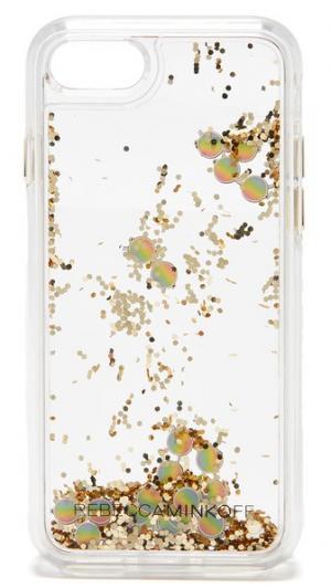 Миниатюрный чехол Sunnies Glitterfall для iPhone 7 Rebecca Minkoff