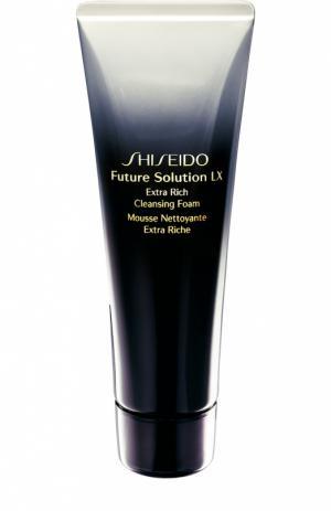 Обогащенная очищающая пенка Future Solution LX Shiseido. Цвет: бесцветный