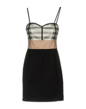 Короткое платье M!A F. Цвет: черный