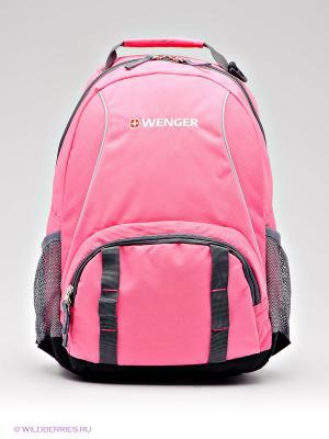Рюкзак WENGER. Цвет: серебристый, розовый