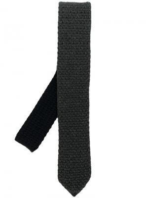 Knit tie Ermenegildo Zegna. Цвет: серый