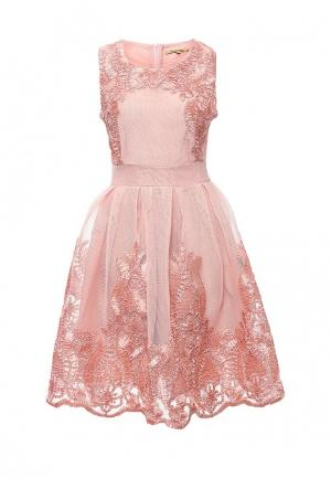 Платье Sweet Miss. Цвет: розовый