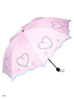 Зонт Modis. Цвет: розовый, голубой
