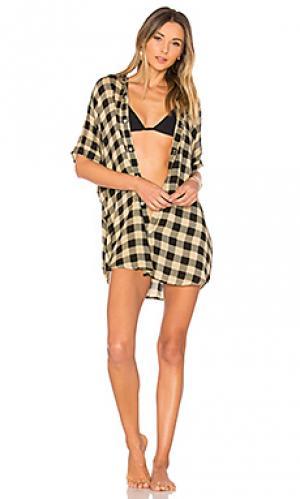 Платье-рубашка mombasa Acacia Swimwear. Цвет: черный