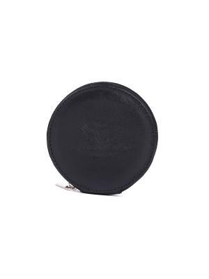 Кошелек-монетница VERSADO. Цвет: черный