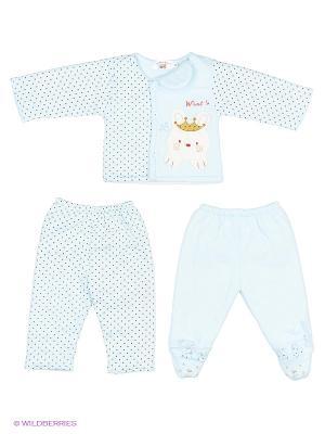 Комплект одежды Happy Bear. Цвет: голубой