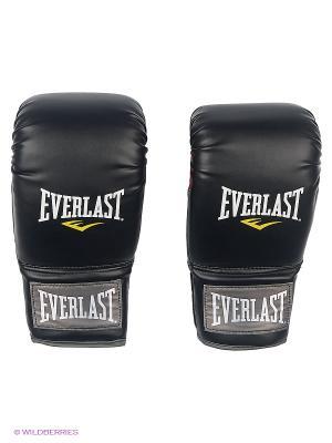 Перчатки Clinch Strike Everlast. Цвет: черный