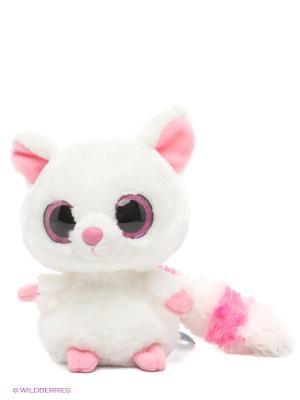 Игрушка Лисица Фенек Aurora. Цвет: белый, розовый