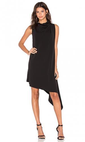 Платье carling Acler. Цвет: черный