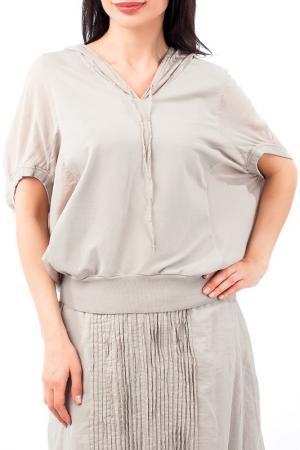 Блуза EUROPEAN CULTURE. Цвет: серый