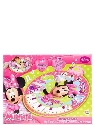 Коврик Minnie музыкальный на батарейках IMC toys. Цвет: розовый