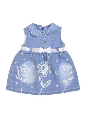 Джинсовое платье M-BABY