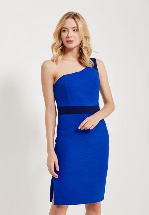 Платье Alex Lu. Цвет: синий