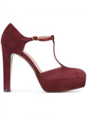 Туфли-лодочки на платформе LAutre Chose L'Autre. Цвет: розовый и фиолетовый