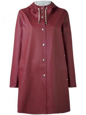 Пальто Mosebacke Stutterheim. Цвет: красный
