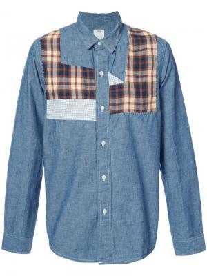 Джинсовая рубашка с длинными рукавами Visvim. Цвет: синий