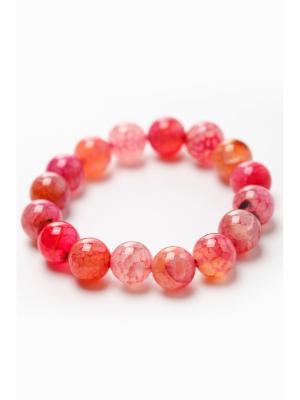 Браслет Oceania. Цвет: розовый, красный, оранжевый