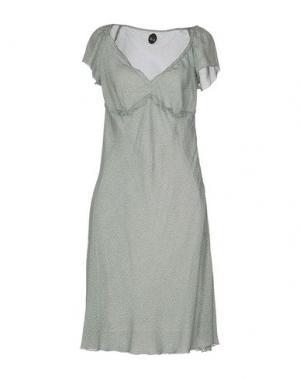 Платье до колена NOLITA. Цвет: светло-зеленый