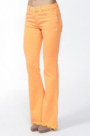 Джинсы J Brand+Christopher Kane. Цвет: оранжевый