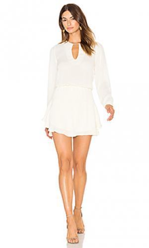 Сплошное мини платье jack Karina Grimaldi. Цвет: ivory