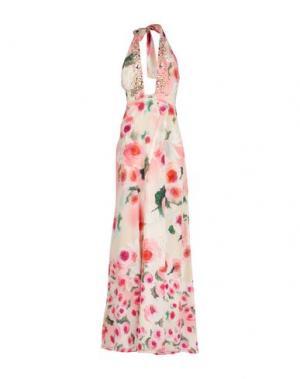 Длинное платье VDP BEACH. Цвет: розовый