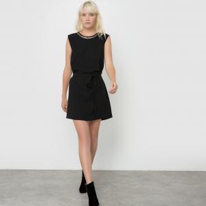 Платье без рукавов CLEMENTINE SUNCOO. Цвет: черный
