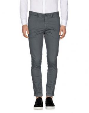 Повседневные брюки SSEINSE. Цвет: серый