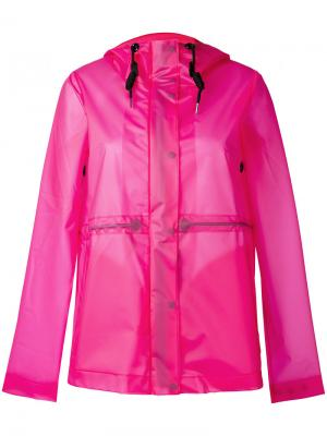 Куртка original vinyl Hunter. Цвет: розовый и фиолетовый