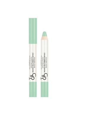 Корректор цветной для макияжа лица Color Corrector Crayon. Тон 51 Golden Rose... Цвет: зеленый