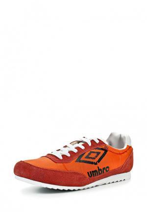 Кроссовки Umbro. Цвет: оранжевый