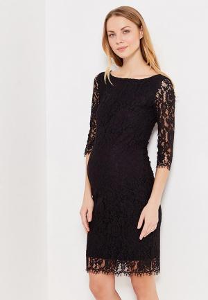 Платье DanMaralex. Цвет: черный