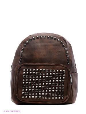 Рюкзак женский Malvinas. Цвет: коричневый