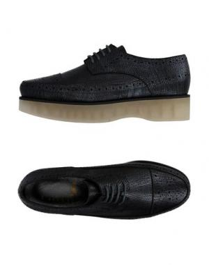 Обувь на шнурках F-TROUPE. Цвет: свинцово-серый