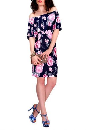 Платье MONT PELLIER. Цвет: розовая орхидея