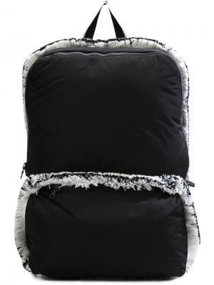 Рюкзак с бахромой Christopher Raeburn. Цвет: чёрный