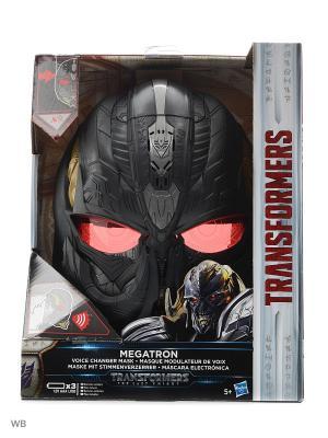 Электронная маска Трансформеров Transformers. Цвет: черный