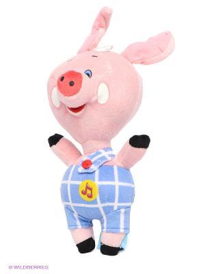 Мягкая игрушка Пятачок Мульти-пульти. Цвет: розовый, голубой