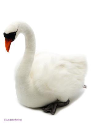 Лебедь белый, 45 см Hansa. Цвет: белый