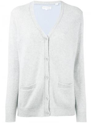 Two-tone cardigan Chinti And Parker. Цвет: серый