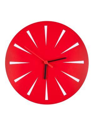 Часы Красные Miolla. Цвет: красный