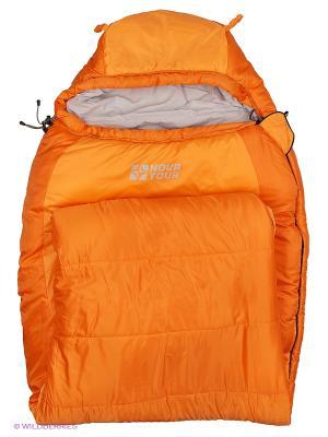 Спальный мешок Сибирь -20 XL V2 Nova tour. Цвет: оранжевый