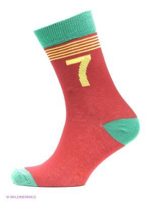 Носки, 3 пары CR7 Cristiano Ronaldo. Цвет: оранжевый, желтый