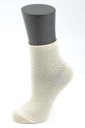 Носки ALLA BUONE. Цвет: желто-белый