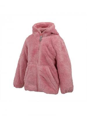 Детский флисовый жакет MIMM HUPPA. Цвет: розовый
