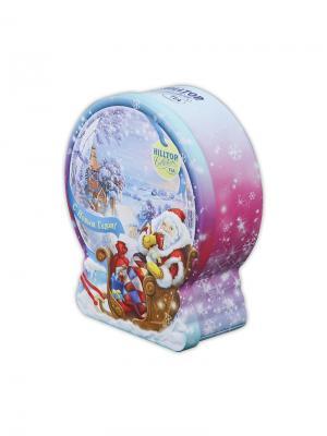 Чай Hilltop Земляника со сливками 100г Снежный шар. Цвет: черный