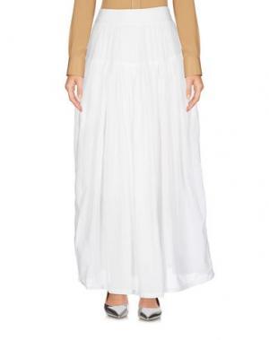 Длинная юбка EUROPEAN CULTURE. Цвет: белый